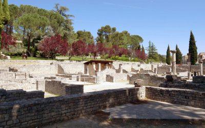 Découvre le site antique de Puymin à Vaison la Romaine
