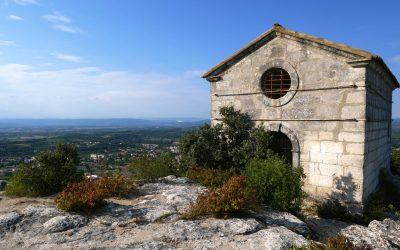 La chapelle Saint-Juste : Le balcon de Saint-Paul-Trois-Châteaux.