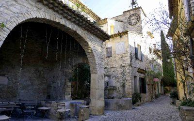 Visite du village médiéval de Séguret en Provence
