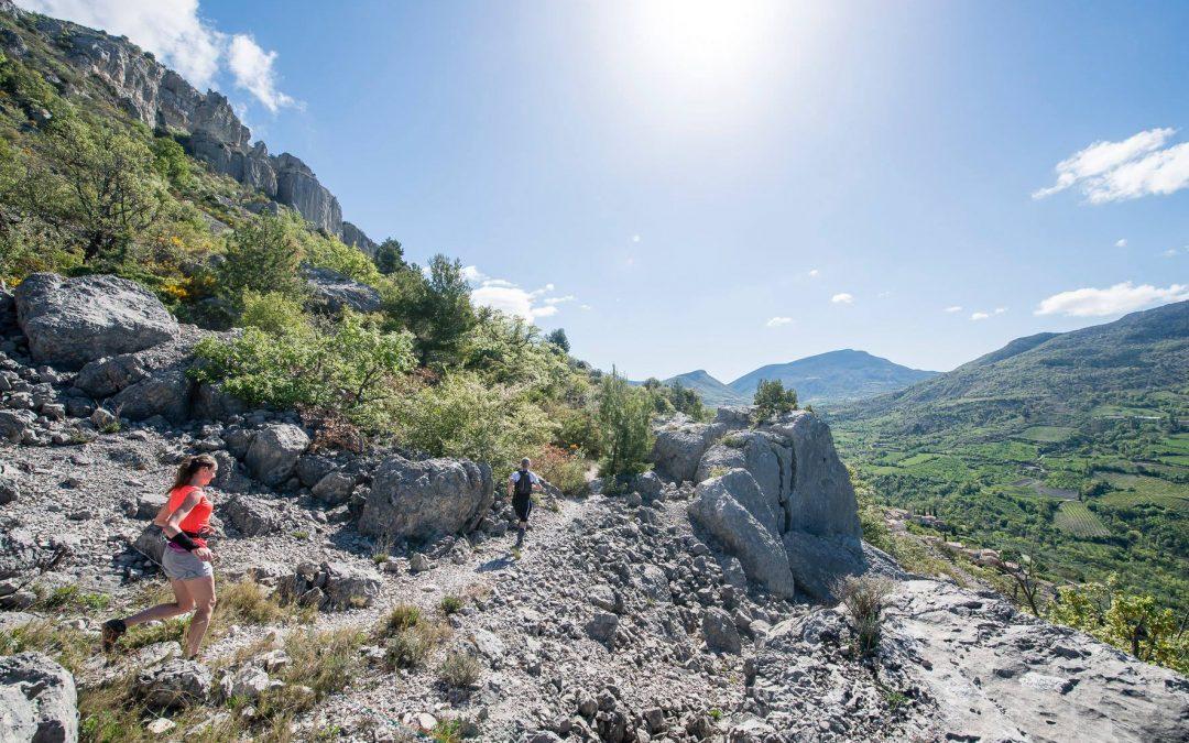 Trail Drôme 2017 : Le paradis en Baronnies provençales.