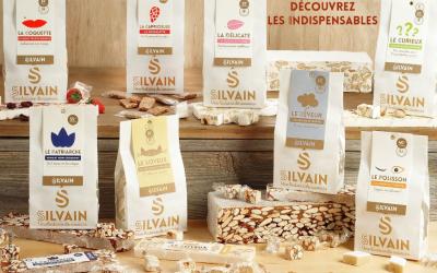 Présentation des Nougats Silvain, nougaterie artisanale et familiale installée à Saint-Didier, au cœur du Vaucluse.