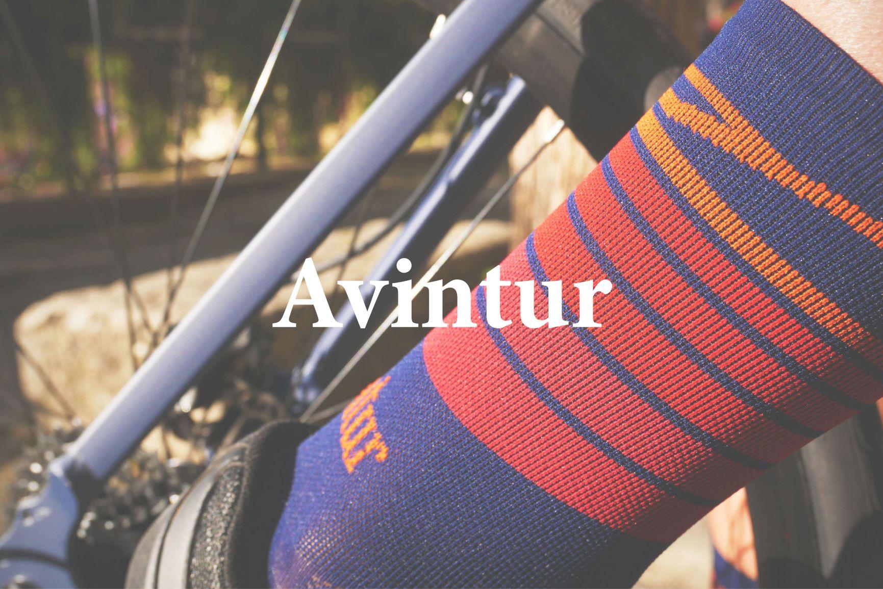avintur chaussettes vélo